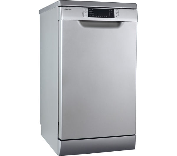 Buy Kenwood Kdw45s16 Slimline Dishwasher Silver Free Delivery Currys