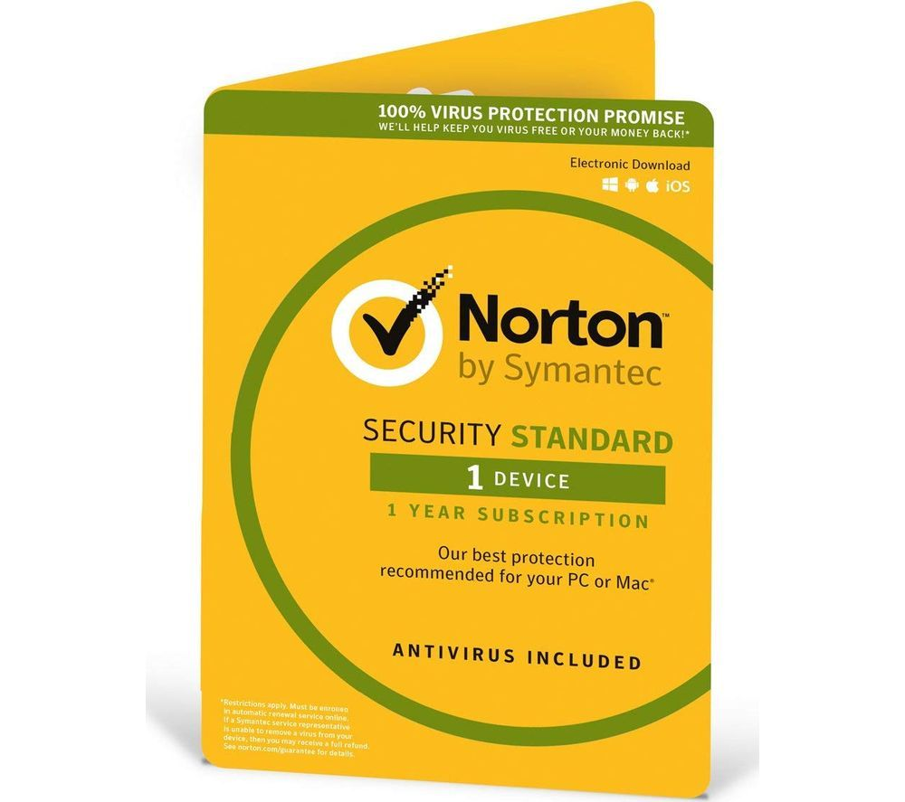 NORTON Security 2018 - 1 year for 1 device (download)