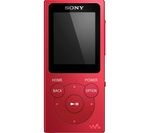 SONY Walkman NW-E394R 8 GB MP3 Player with FM Radio - Red