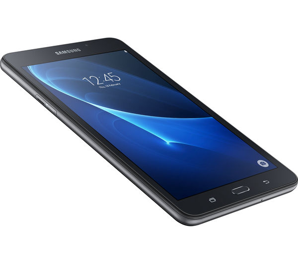 samsung galaxy tab a 7 tablet 8 gb black livesafe premium 2018 1 year for unlimited devices rh currys co uk