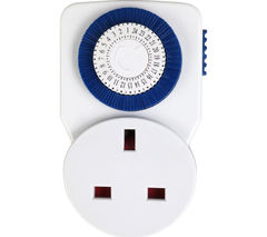 MASTERPLUG TMS24 24 Hour Timer Plug Adapter