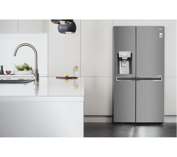 American Fridge Freezer Part - 28: LG GSL961PZBV American-Style Fridge Freezer - Stainless Steel