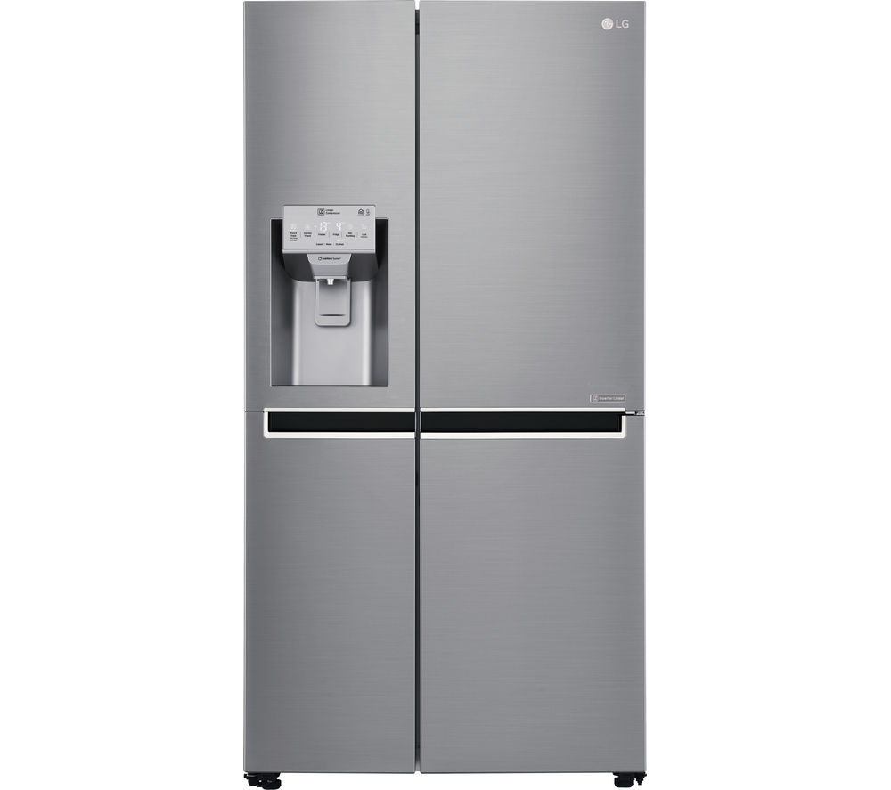 LG American-Style Fridge Freezer Stainless Steel GSL961PZBV, Stainless Steel