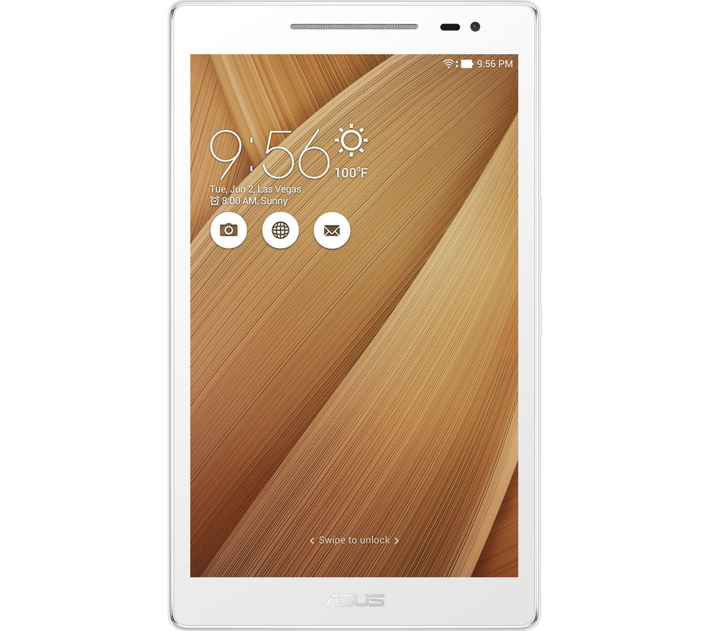 "ASUS Z380M 8"" Tablet - 16 GB, Gold + LiveSafe Premium - 1 user / unlimited devices for 1 year + Cloud Storage for Tablets & Mobiles - 200 GB, 1 year"