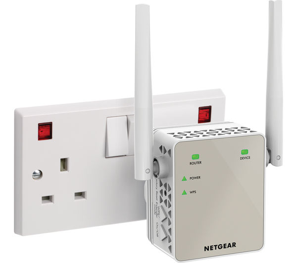 Netgear ex6120 wifi range extender ac 1200 dual band - Wireless extender with ethernet ports ...