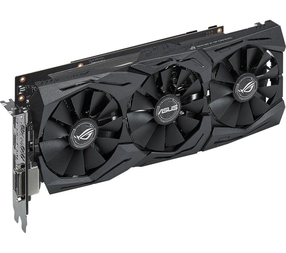ASUS GeForce GTX 1060 6 GB ROG STRIX Graphics Card