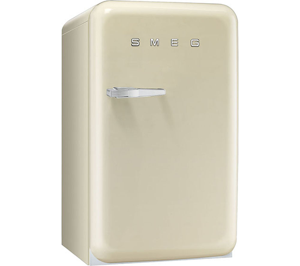 SMEG FAB10RP Mini Fridge - Cream