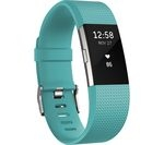 FITBIT Charge 2 - Teal, Small