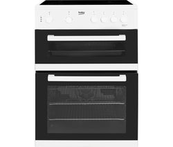 BEKO KDC611W 60 cm Electric Ceramic Cooker - White Best Price, Cheapest Prices