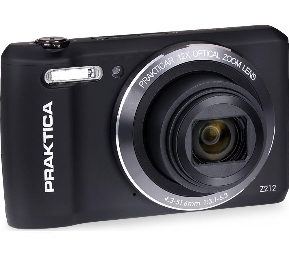 PRAKTICA Luxmedia Z212-BK Compact Camera - Black
