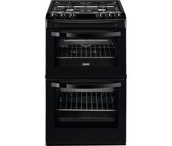 ZANUSSI ZCG43010BA Gas Cooker - Black