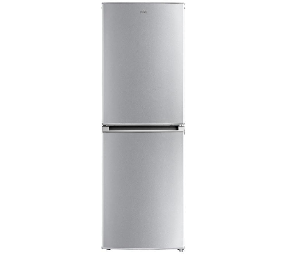LOGIK LNF55S17 50/50 Fridge Freezer - Silver