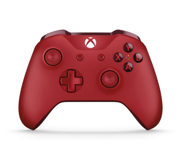 Image of MICROSOFT Xbox One Wireless Controller - Red