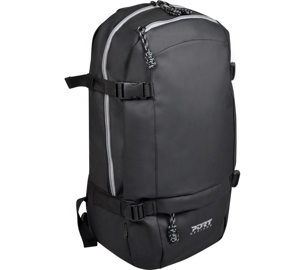 "Image of PORT DESIGNS Brooklyn 15.6"" Laptop Backpack - Grey, Grey"