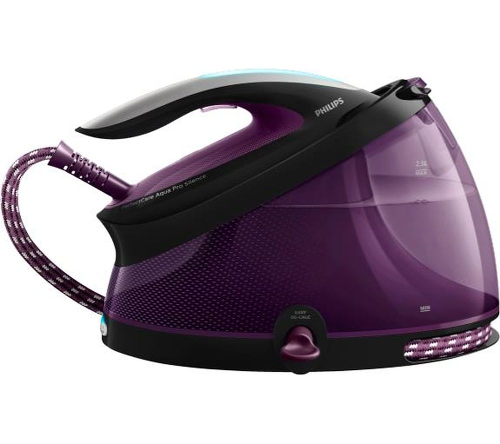 PHILIPS PerfectCare AquaPro GC9405/80 Steam Generator Iron - Black & Purple