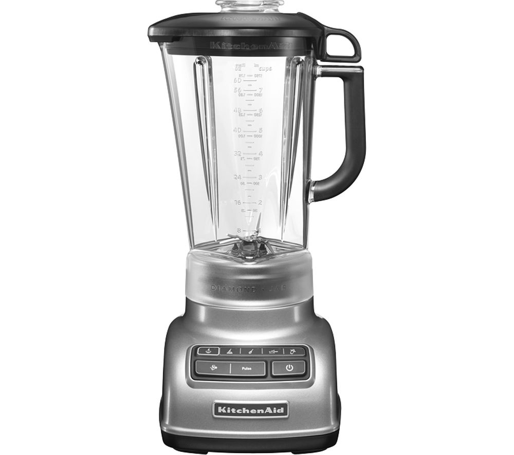 Black And Silver Kitchen Appliances: Buy KITCHENAID 5KSB1585BCU Diamond Blender