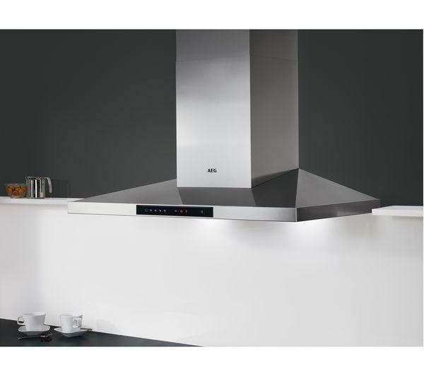 buy aeg dkb5960hm chimney cooker hood stainless steel. Black Bedroom Furniture Sets. Home Design Ideas