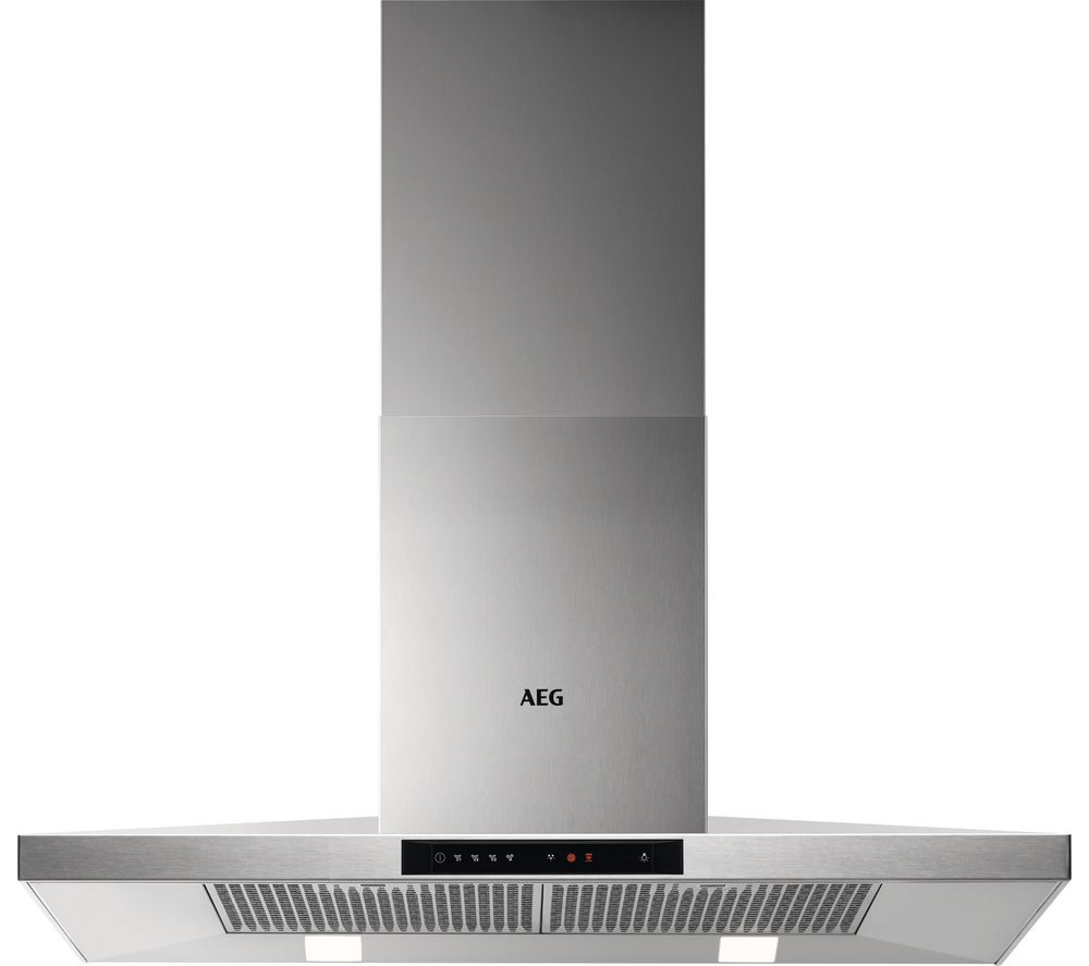 AEG DKB5960HM Chimney Cooker Hood - Stainless Steel, Stainless Steel
