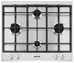 SMEG P260XGH Gas Hob - Stainless Steel