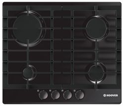 HOOVER HGH64SCE B Gas Hob - Black