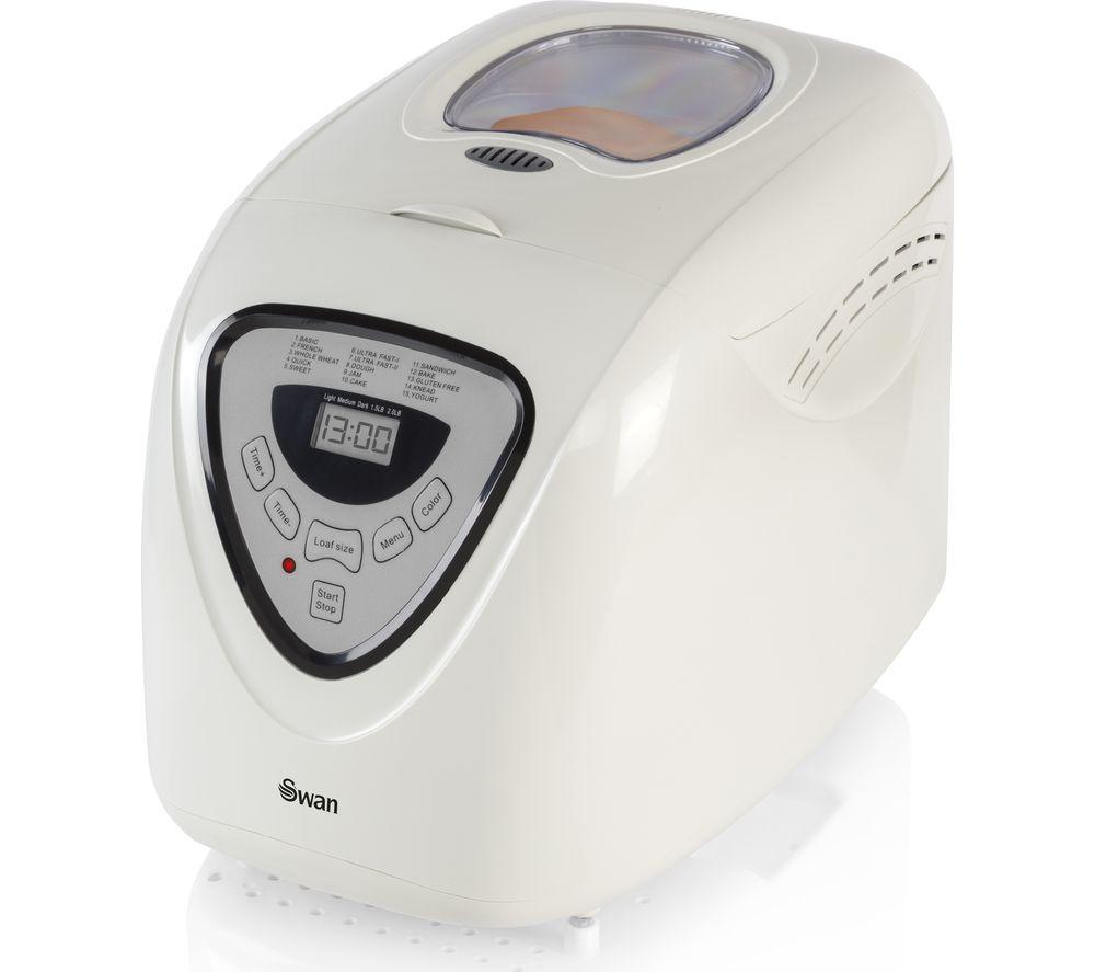 Image of SWAN Quickbake SB1041N Breadmaker - White, White