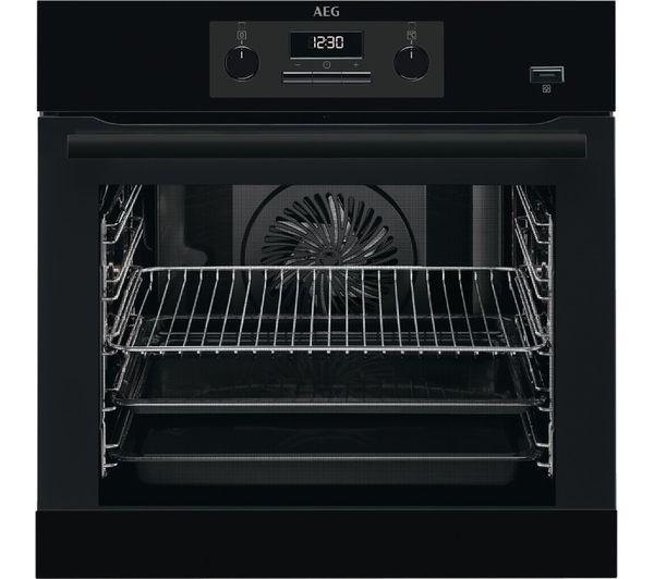 Image of AEG BEB351010B Electric Steam Oven - Black