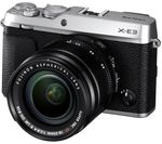 FUJIFILM X-E3 Mirrorless Camera with XF 18-55 mm f/2.8-4 Lens - Silver