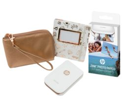 HP Sprocket Photo Printer Limited Edition Gift Box & Photo Paper Bundle - 30 Sheets