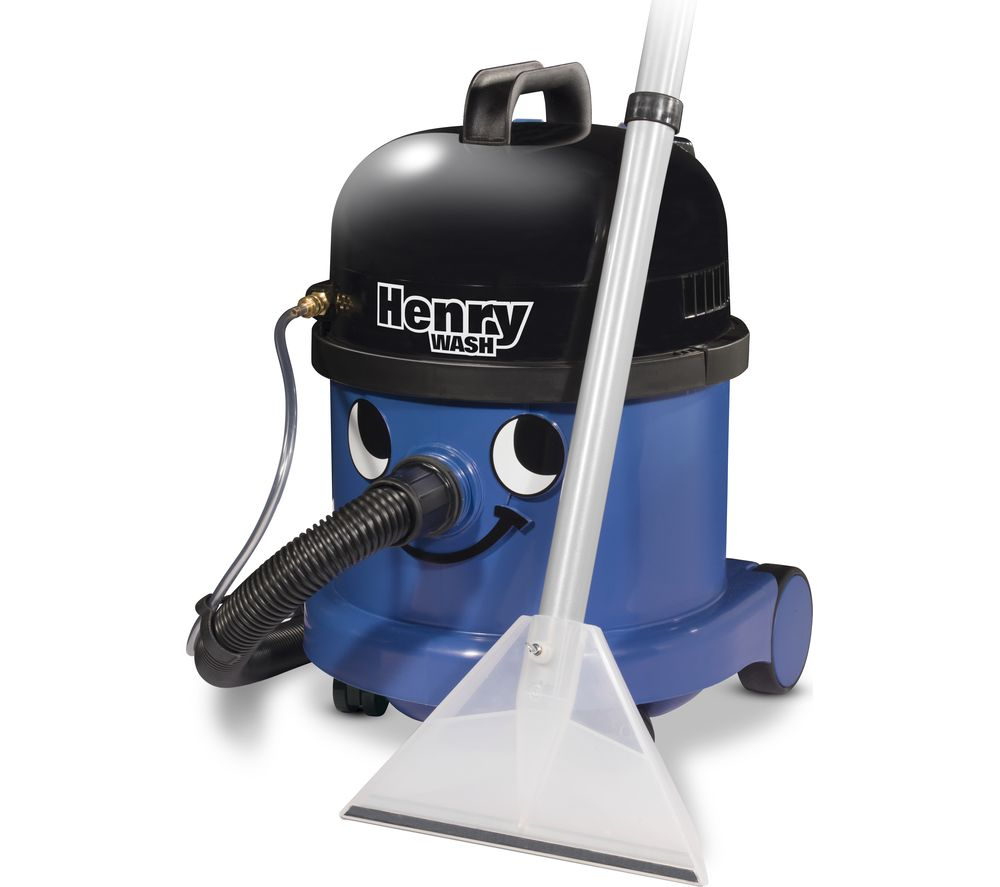 NUMATIC Henry Wash HWV370 Cylinder Carpet Cleaner - Blue, Blue