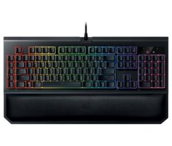 RAZER BlackWidow Chroma V2 Mechanical Gaming Keyboard - Yellow Switches