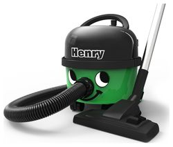 NUMATIC Henry HVR160 Cylinder Vacuum Cleaner - Green