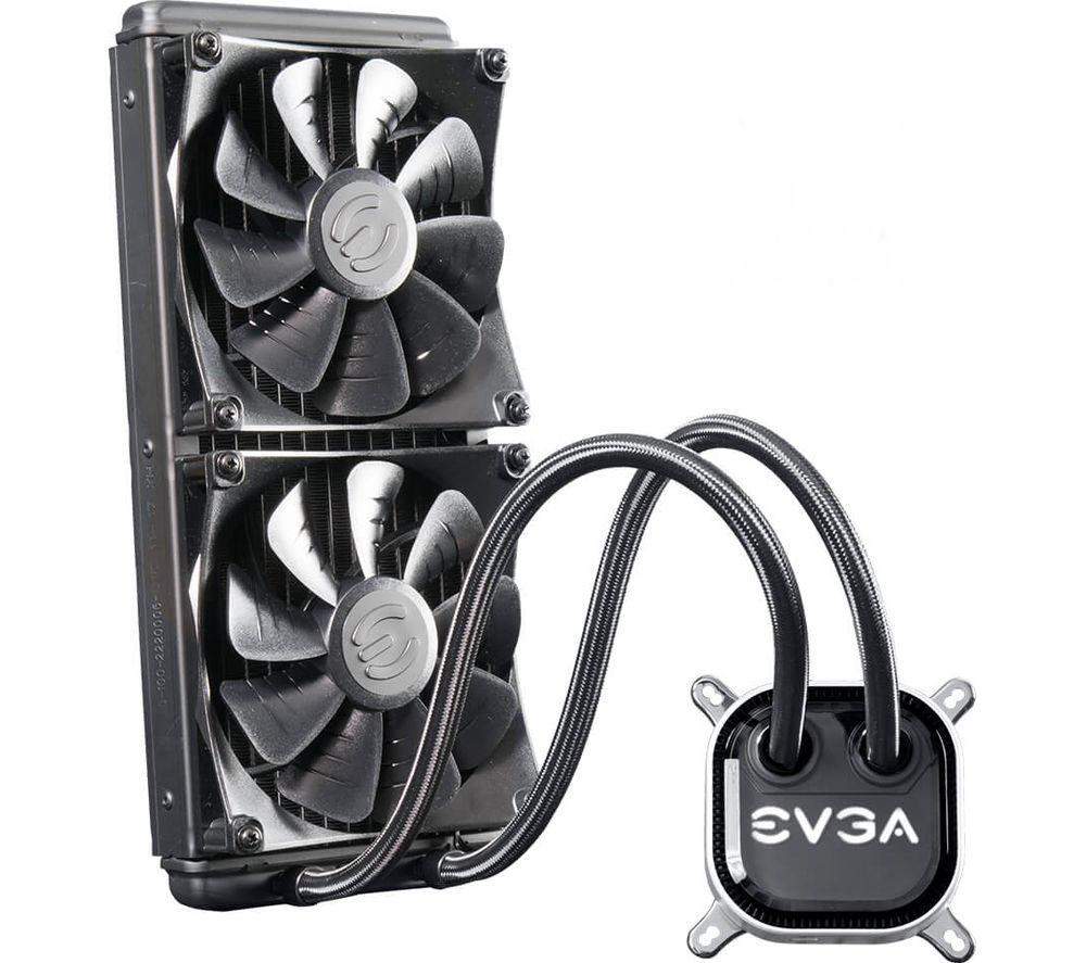 EVGA CLC 280 mm Liquid CPU Cooler - RGB LED
