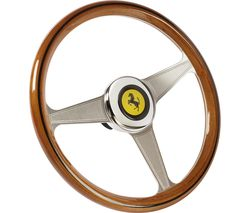 THRUSTMASTER Ferrari 250 GTO Racing Wheel - Silver & Brown