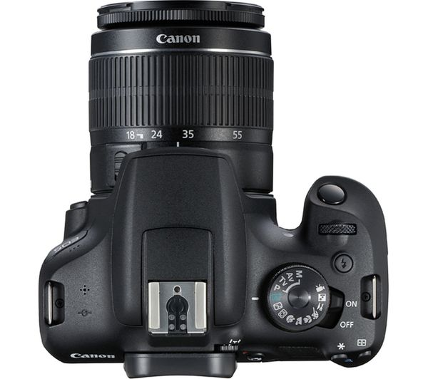 Canon Eos 2000d: Buy CANON EOS 2000D DSLR Camera With EF-S 18-55 Mm F/3.5-5