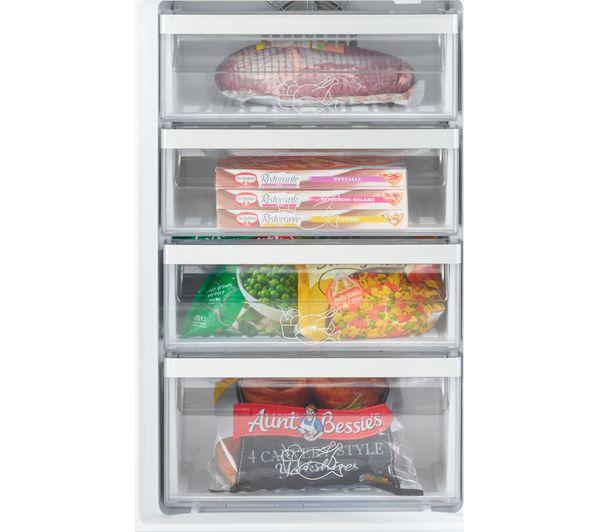 GRUNDIG GKFI5050 Integrated 50/50 Fridge Freezer - Fixed Hinge