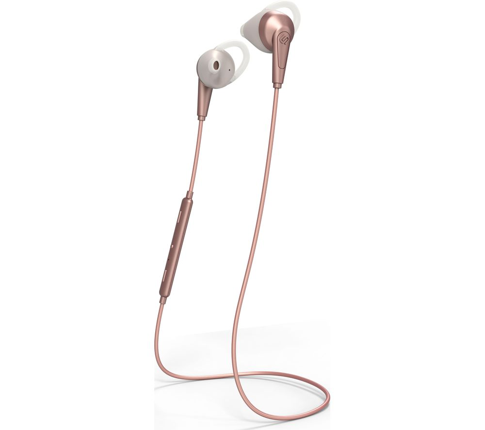 URBANISTA Chicago Wireless Bluetooth Sports Earphones - Rose Gold