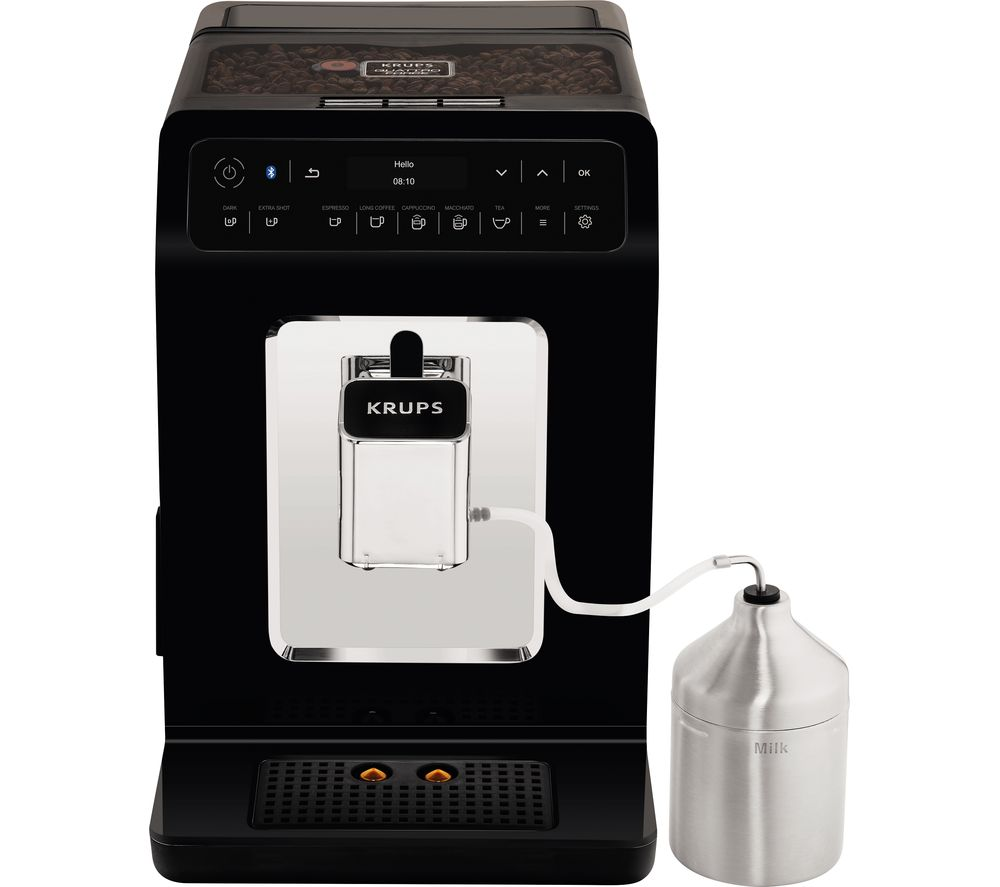 KRUPS Evidence EA893840 Smart Bean to Cup Coffee Machine - Black