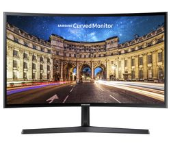 "SAMSUNG C27F398 Full HD 27"" Curved LED Monitor - Black"