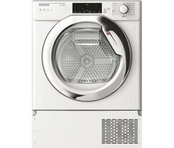 HOOVER HBTDW H7A1TCE-80 Smart Integrated 7 kg Heat Pump Tumble Dryer