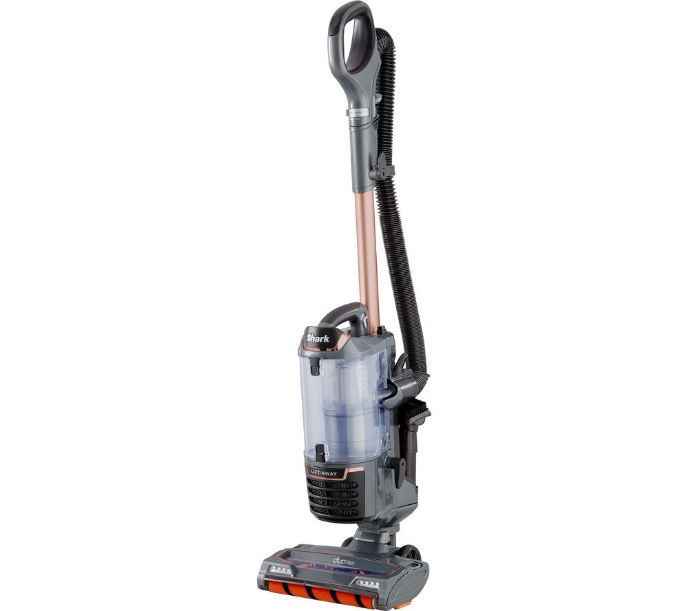 Shark DuoClean Lift-Away True Pet NV700UKT Upright Bagless Vacuum Cleaner - Grey & Rose Gold