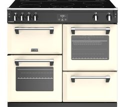 STOVES Richmond S1000Ei 100 cm Electric Induction Range Cooker - Cream