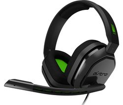Image of ASTRO A10 Gaming Headset - Grey & Green