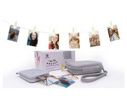 HP Sprocket 200 Mobile Photo Printer Gift Bundle - Pearl