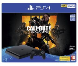 SONY PlayStation 4 with Call of Duty: Black Ops 4 - 500 GB