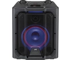 JVC MX-D519PB Portable Bluetooth Speaker - Black