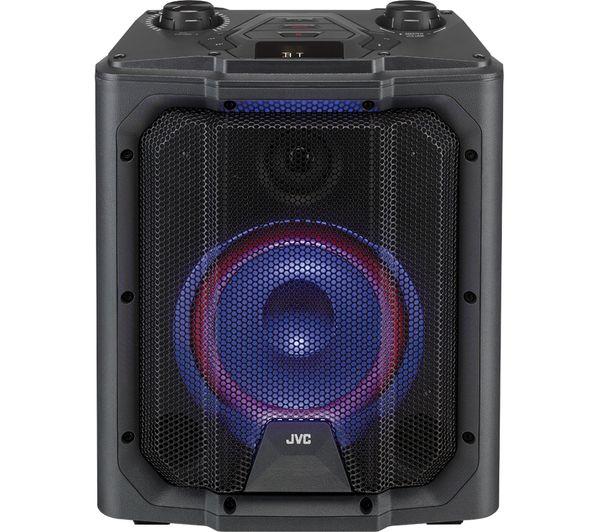 Image of JVC MX-D519PB Portable Bluetooth Speaker - Black
