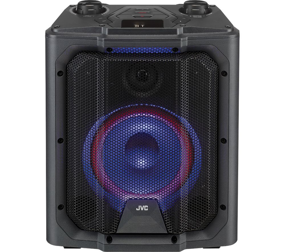 JVC MX-D519PB Portable Bluetooth Speaker - Black, Black