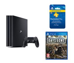 SONY PlayStation 4 Pro, Days Gone & PlayStation Plus 3 Month Subscription Bundle - 1 TB