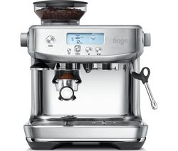 SAGE The Barista Pro SES878BSS Espresso Coffee Machine - Stainless Steel Best Price, Cheapest Prices