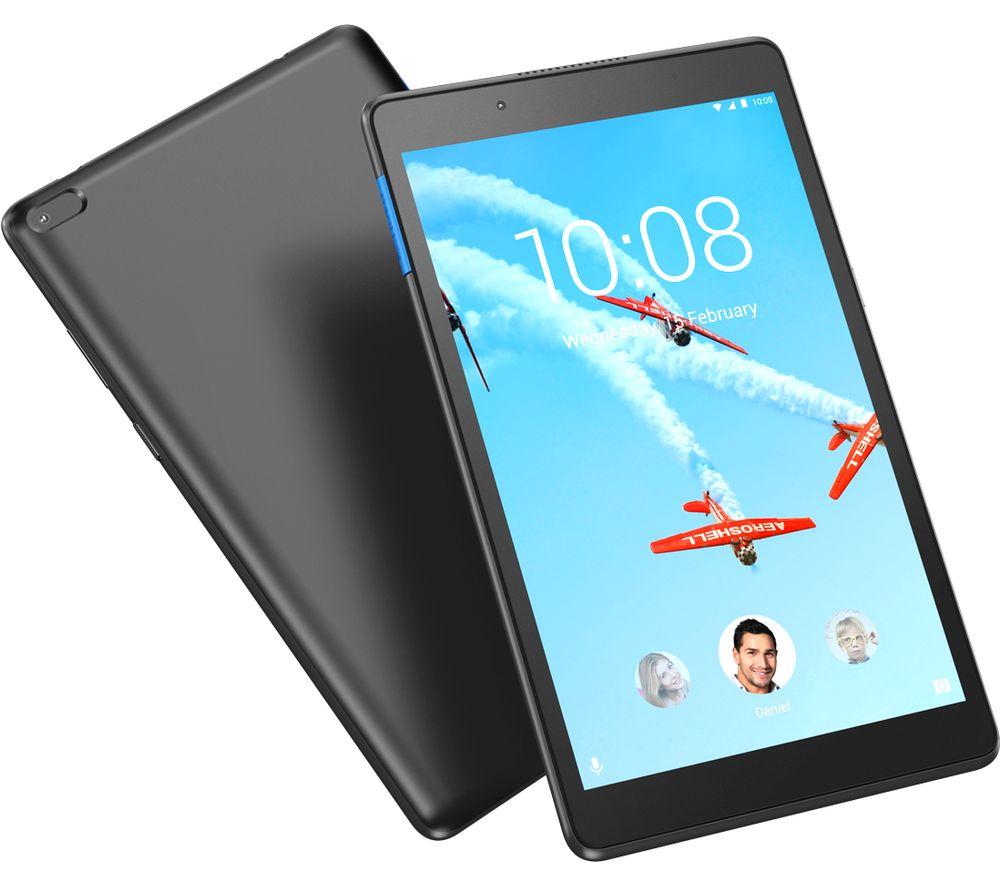 """LENOVO Tab E8 8"""" Tablet (2019) - 16 GB, Black"""